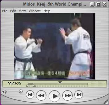 کلیپ بسیار زیبای تکنیکهای کنجی میدوری در پنجمین دوره مسابقات جهانی کیوکوشین